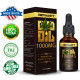 CB-DYNASTY Broad Spectrum Extract Hemp Oil 30ml, High Strength Hemp Extract, 1000mg Made in USA