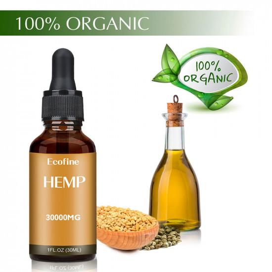 Ecofine hemp oil drops 95% 30000mg 30ml