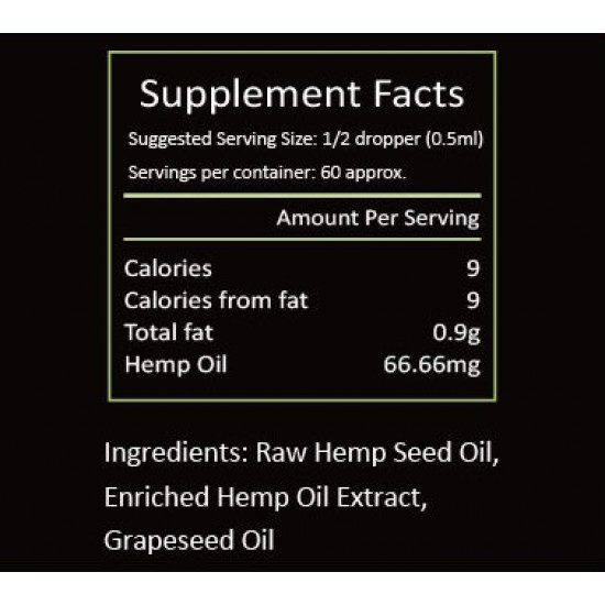 NEOHEMP Hemp Oil Drops 2000mg 30ml, Vegan & Vegetarian Friendly(2000mg)