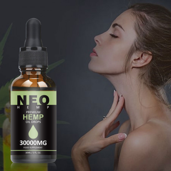 NeoHemp Hemp Oil Drops 30000mg 30ml, Help Reduce Stress, Anxiety and Pain(30000mg )