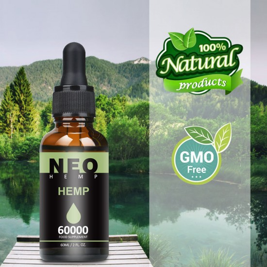 NeoHemp Hemp Oil Drops 60000mg 60ml