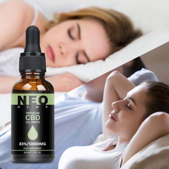 NEOHEMP C-B-D Oil Drops 83% 50000mg 60ml