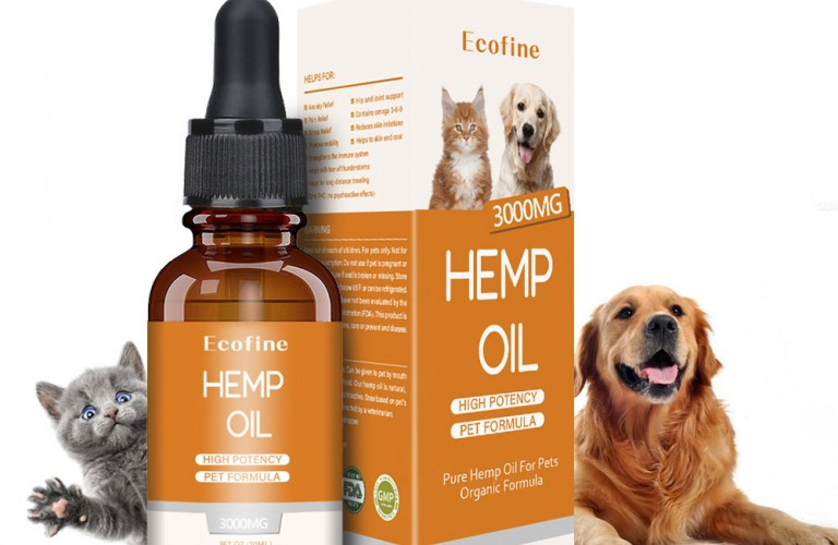 Ecofine Hemp Oil for Pets