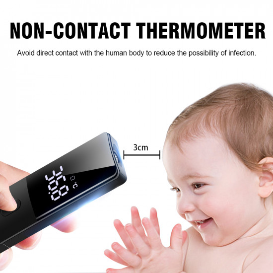 Infrared Thermometer, Non-Contact Forehead Thermometer, Digital Ear Thermometers